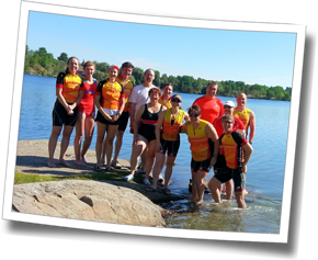 Athlete group shot from DZ Summer in Sudbury Big Training Day - Sudbury, Ontario