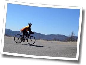 In cycling and triathlon, climbing makes you stronger.  And that's just what triathletes do at Discomfort Zone's Asheville, North Carolina triathlon camps.