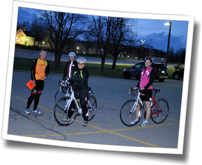 Workouts at DZ Spring Triathlon Training Clinic are designed to build both both skills and fitness