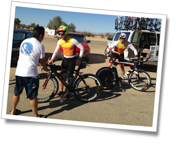 Transition one for Team Tufted Titmouse at the 2013 Furnace Creek 508