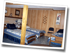 Bunkroom at Trail's End, Camp HQ for DZ Asheville Spring Triathlon Training Camp