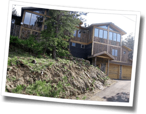 The Sunshine House, Camp HQ for The Boulder Experience 2015, is located on one of Boulder's famous mountain climbs